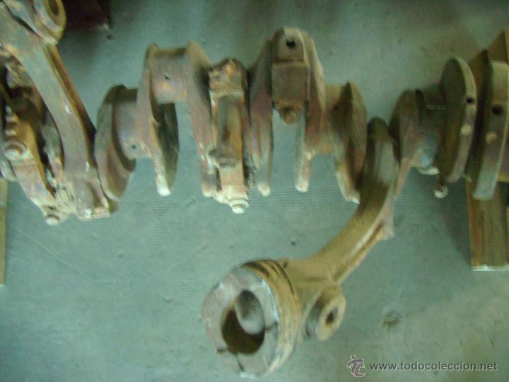Antigüedades: CONJUNTO BIELAS CIGUEÑAL CAMION MACK BARRACAS - Foto 3 - 46169048