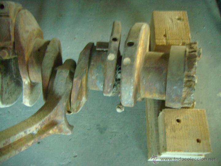 Antigüedades: CONJUNTO BIELAS CIGUEÑAL CAMION MACK BARRACAS - Foto 4 - 46169048