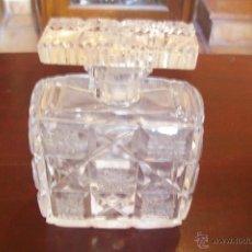 Antigüedades: FRASCO PERFUME CRISTAL BOHEMIA. Lote 46314644