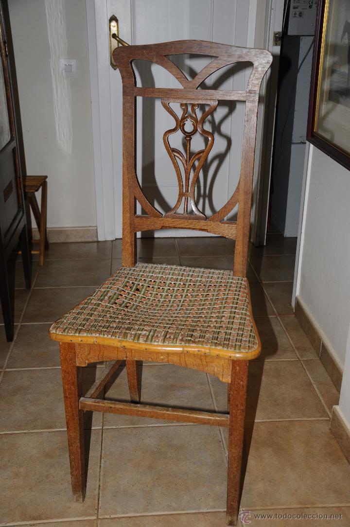 silla modernista de roble para restaurar comprar sillas ForAntiguedades Para Restaurar