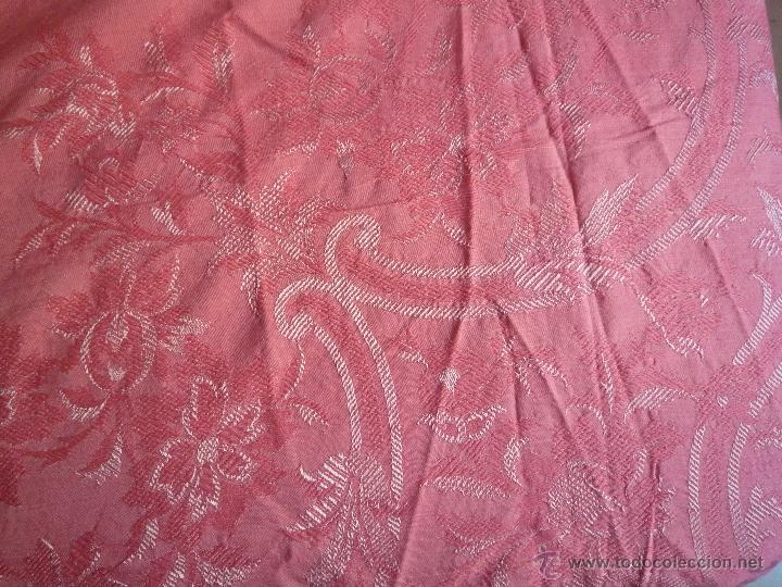 Antigüedades: Colcha antigua algodón - Foto 3 - 46317806