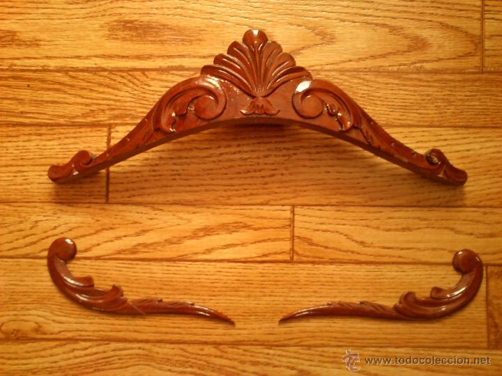 Antiguas molduras de madera talladas a mano c comprar for Molduras de madera