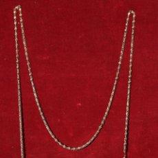 Antigüedades: BOLSO DE CUENTAS DE METAL MODERNISTA. Lote 46352929
