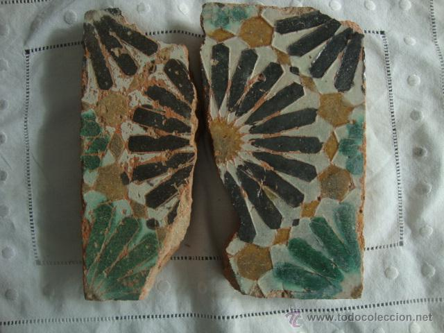 AZULEJO SIGLO XV (Antigüedades - Porcelanas y Cerámicas - Azulejos)
