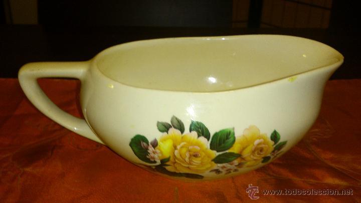 Antigüedades: Antigua salsera de porcelana . F S. Nº 29. 303 - Foto 2 - 46363318