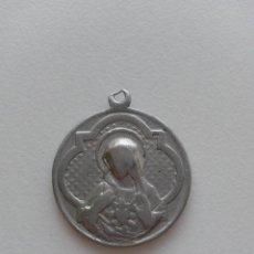 Antigüedades: MEDALLA CORAZON DE MARIA , CORAZON DE JESUS DE 2,7 CMS DE DIAMETRO. Lote 46368631