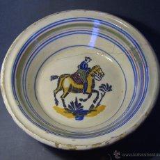 Antigüedades: LEBRILLO CERAMICA DE TRIANA XIX. Lote 46376345