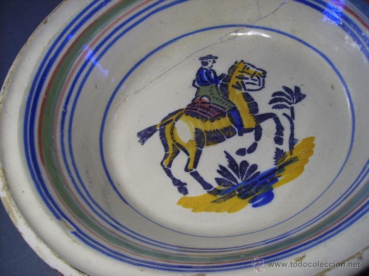 Antigüedades: LEBRILLO CERAMICA DE TRIANA XIX - Foto 4 - 46376345
