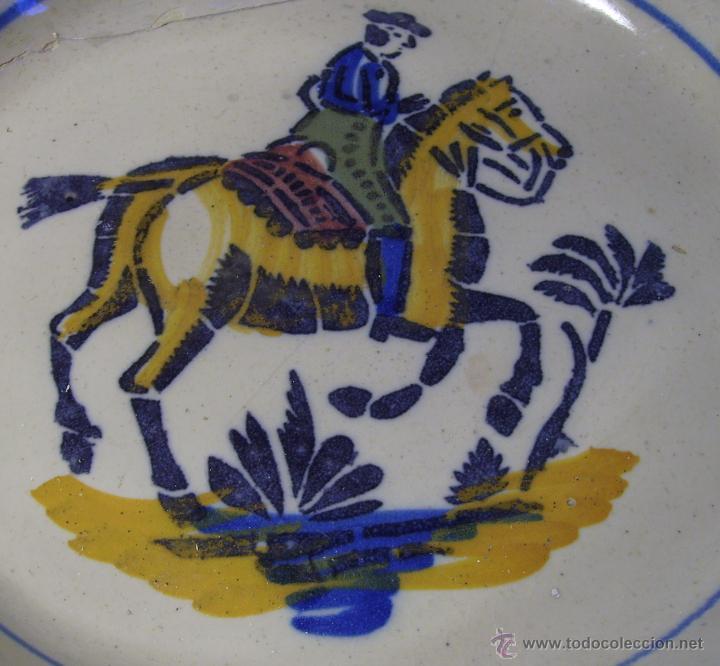 Antigüedades: LEBRILLO CERAMICA DE TRIANA XIX - Foto 6 - 46376345