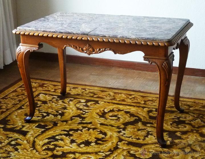 importante mueble consola antiguo o mesa escrit comprar