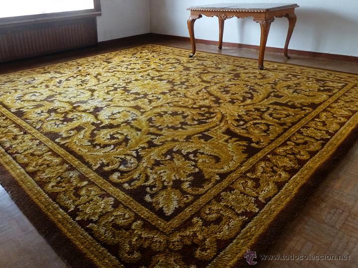 espectacular alfombra antigua de la apujarre a comprar On alfombras antiguas segunda mano