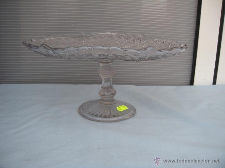 Antigüedades: ANTIGUO FRUTERO DE VIDRIO MOLDADO DE SANTA LUCIA, CARTAGENA - Foto 3 - 46388183