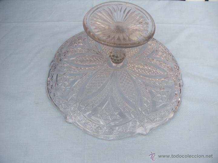 Antigüedades: ANTIGUO FRUTERO DE VIDRIO MOLDADO DE SANTA LUCIA, CARTAGENA - Foto 5 - 46388183