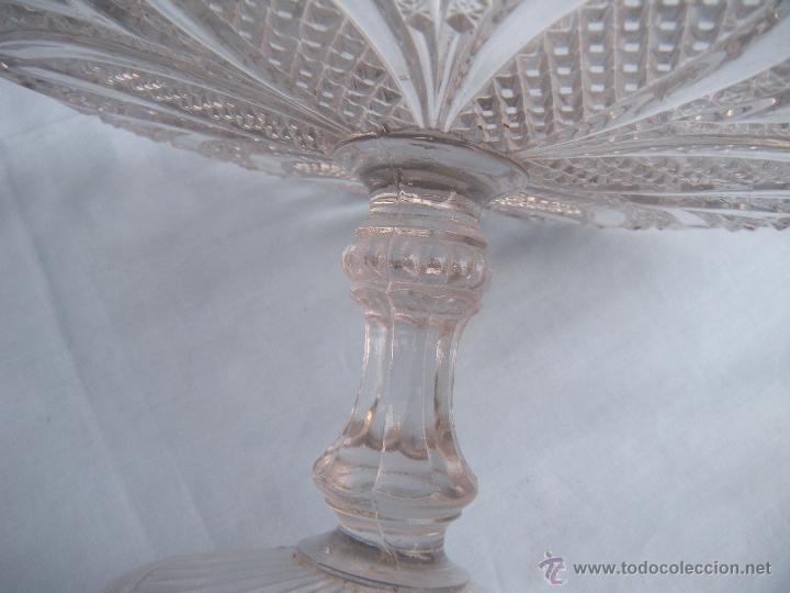Antigüedades: ANTIGUO FRUTERO DE VIDRIO MOLDADO DE SANTA LUCIA, CARTAGENA - Foto 6 - 46388183