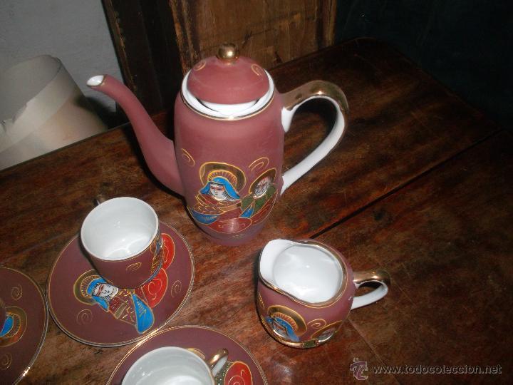 Antigüedades: lote de porcelana japonesa satsuma años 50 - Foto 2 - 46394569