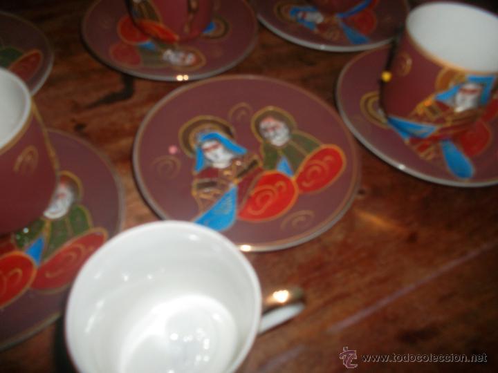 Antigüedades: lote de porcelana japonesa satsuma años 50 - Foto 5 - 46394569