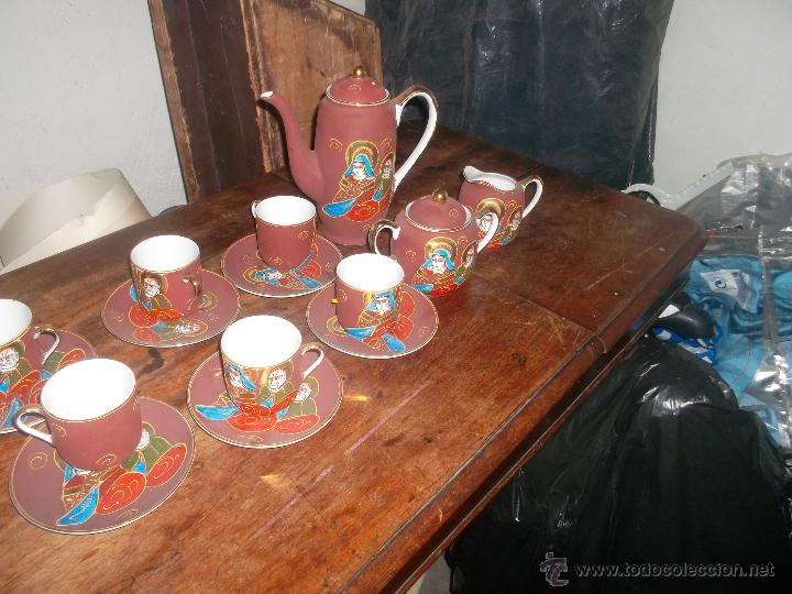 Antigüedades: lote de porcelana japonesa satsuma años 50 - Foto 6 - 46394569