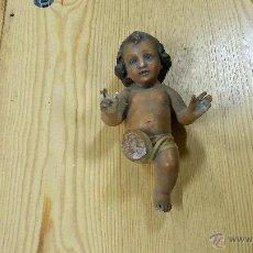 Antigüedades: EXCELENTE NINO JESUS MEDIDAS 17 CM. Lote 46413202
