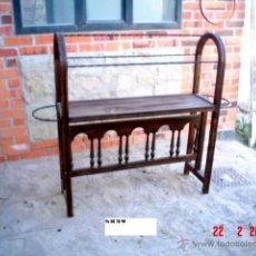 Antigüedades: PERCHERO BURRO ANTIGUO. Lote 46413857