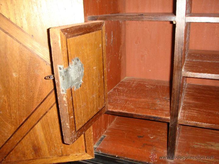 Antigüedades: Magnifico Bargueño y Mesa de Pata de Lenteja. S.XVII. Precioso trabajo en marquetería. - Foto 6 - 46433743