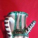 Antigüedades: ANTIGUA JARRA CERAMICA PUNTER TERUEL. Lote 46448707