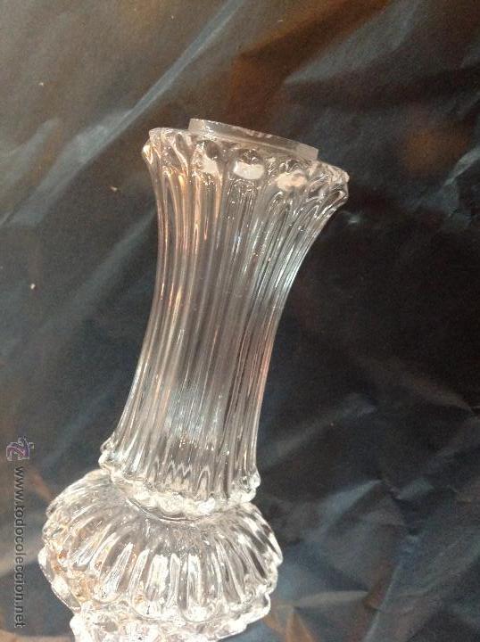 Antigüedades: TUBOs COLUMNA DE CRISTAL PARA FUSTE DE LAMPARA - Foto 12 - 46461593