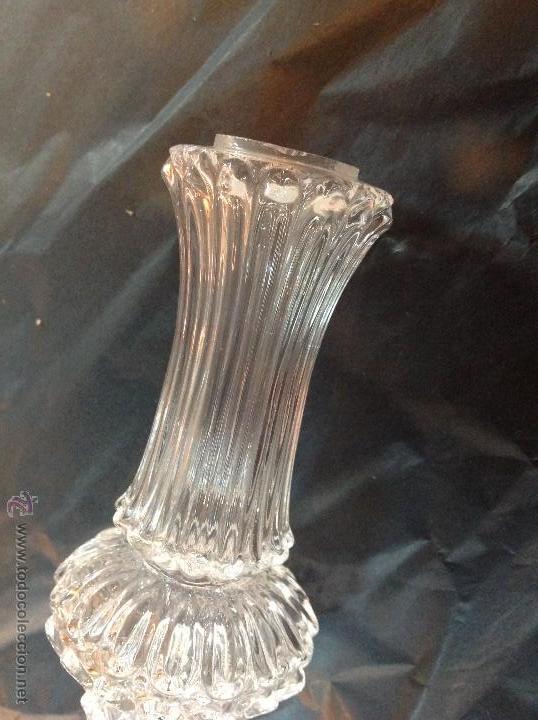 Antigüedades: TUBOs COLUMNA DE CRISTAL PARA FUSTE DE LAMPARA - Foto 13 - 46461593