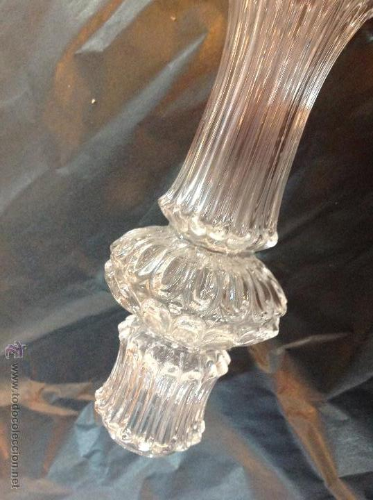 Antigüedades: TUBOs COLUMNA DE CRISTAL PARA FUSTE DE LAMPARA - Foto 14 - 46461593