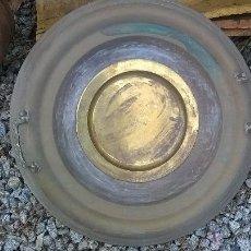 Antigüedades: BRASERO BRONZE ANTIGUO. Lote 46467979