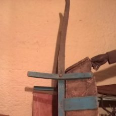 Antigüedades: CARRETON RUSTICO MADERA MUY BONITO. Lote 46468424