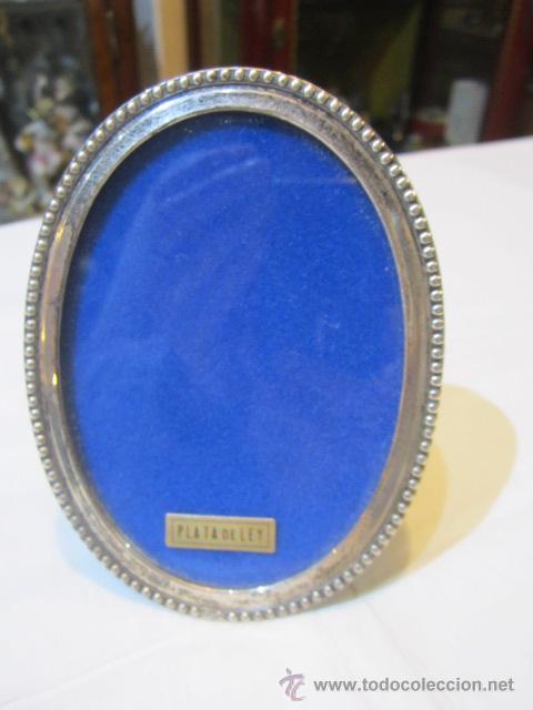 marco portafotos ovalado, de plata. medida: 12 - Comprar Portafotos ...