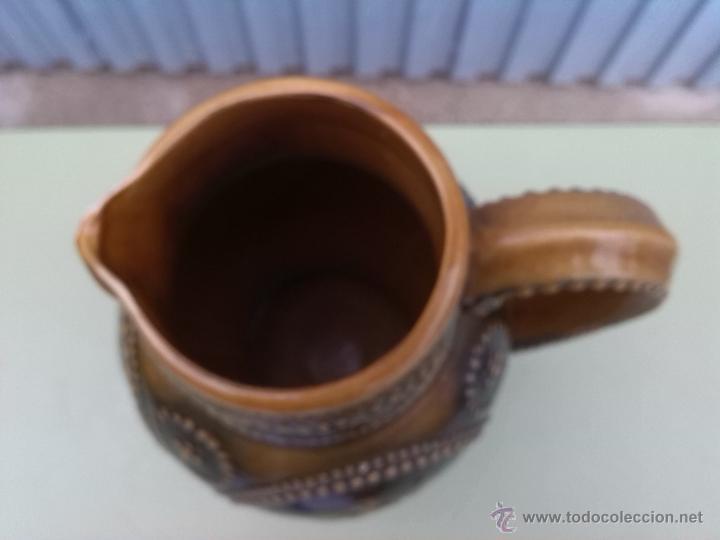 Antigüedades: preciosa jarra con escenas de don quijote y sancho panza. - Foto 3 - 46482722
