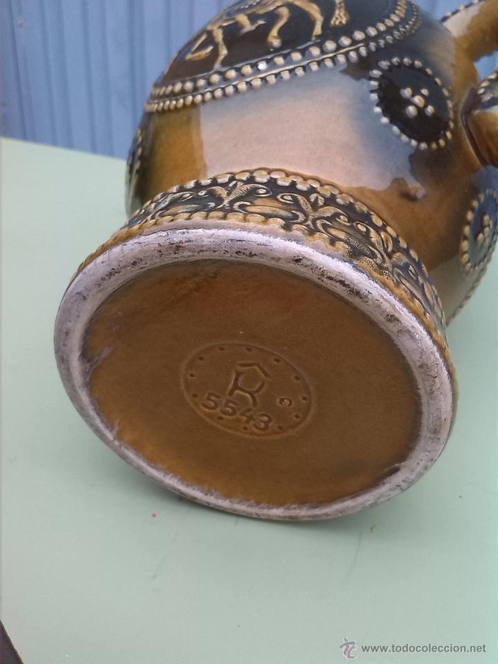 Antigüedades: preciosa jarra con escenas de don quijote y sancho panza. - Foto 6 - 46482722