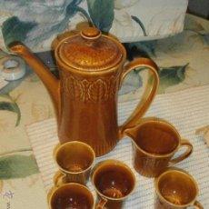 Antigüedades: JUEGO DE CAFE DE LA MARCA PONTESA. Lote 46486401