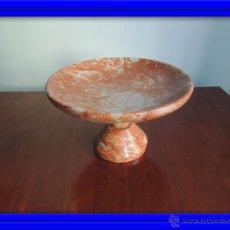 Antigüedades: CENTRO DE MESA DE MARMOL ROSA ART DECO. Lote 45038089