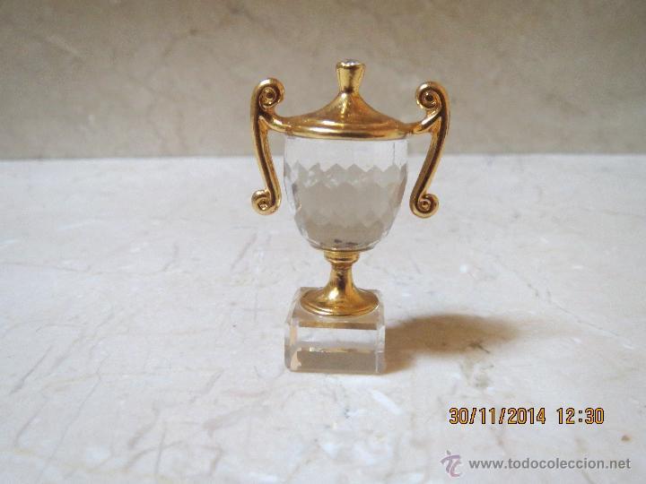 COPA CRISTAL DE SWAROVSKY. (Antigüedades - Cristal y Vidrio - Swarovski)