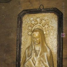 Antigüedades: AVE MARIA EN ESCAYOLA. Lote 3761863