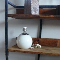 Antigüedades: INCREIBLE LAMPARA BOLA ANTIGUA AÑOS 60 NUEVA A ESTRENAR MANISES. Lote 76712094