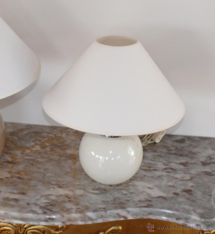 Antigüedades: INCREIBLE LAMPARA BOLA ANTIGUA AÑOS 60 NUEVA A ESTRENAR MANISES - Foto 3 - 76712094