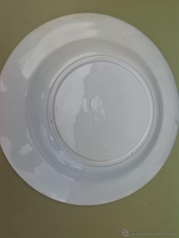 Antigüedades: antiguo plato de cartagena , sello inciso - Foto 2 - 46527261