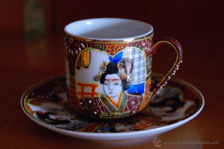 Antigüedades: Juego de te porcelana Japones - Foto 2 - 46529133