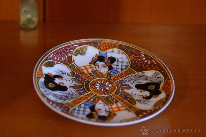 Antigüedades: Juego de te porcelana Japones - Foto 3 - 46529133