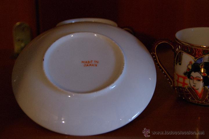 Antigüedades: Juego de te porcelana Japones - Foto 4 - 46529133