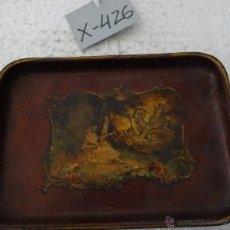 Antigüedades: BANDEJA EN RESINA - XXX 426. Lote 43026360