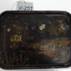 Antigüedades: BANDEJA TÉCNICA DEL LACADO - 251. Lote 43018252
