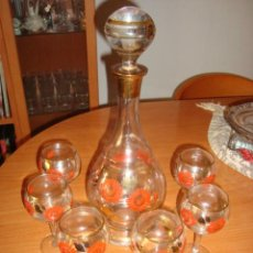 Antigüedades: PRECIOSA LICORERA CENTROEUROPEA. Lote 46542467