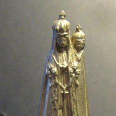 Antigüedades: PEQUEÑA VIRGEN DEVOCIONAL EN PLOMO O ZINC. 8 X 3 X 3 CM. Lote 46555539