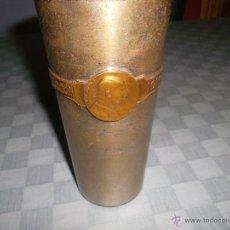 Antigüedades: PRECIOSO VASO ALEMAN FIRMADO POR LOS 2 LADOS. Lote 46558373