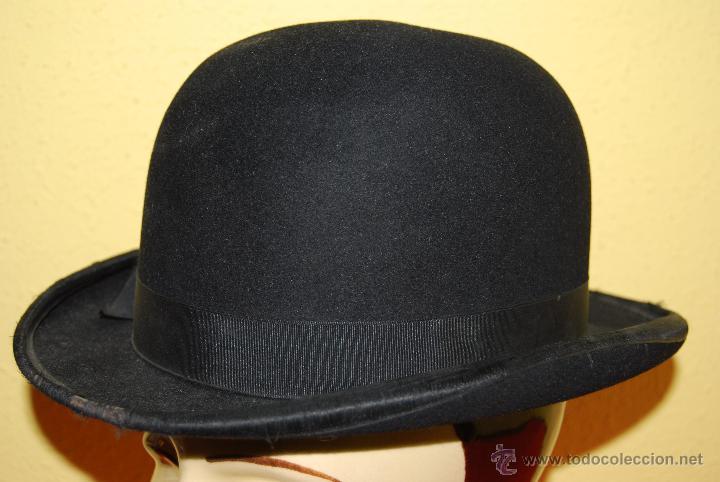 89ed1dd5d0230 antiguo bombín - sombrero hongo - tress   co.