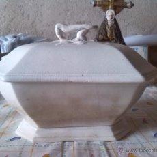 Antigüedades: ANTIGUIA SOPERA DE CARTAGENA, SELLADA VALARINO. Lote 46575391